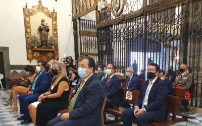 Misa en el Monasterio de Guadalupe con motivo de la celebración del Día de Extremadura