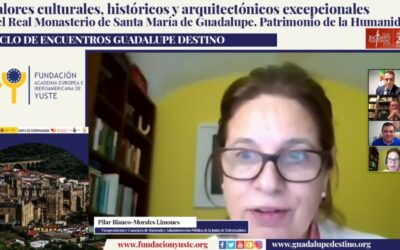 La vicepresidenta primera destaca que Guadalupe representa la vocación extremeña como nexo de unión entre Europa e Iberoamérica