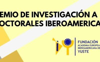 La Fundación Yuste convoca el Premio de Investigación a Tesis Doctorales Iberoamericanas